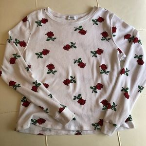 Rose top from Forever 21